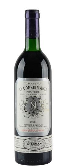 1983 Conseillante, La Bordeaux Blend