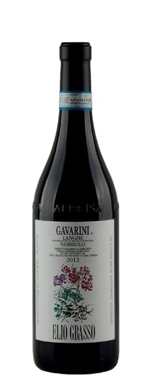 2012 Grasso, Elio Langhe Nebbiolo Gavarini