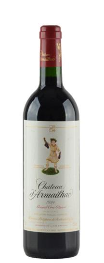 1996 d'Armailhac Bordeaux Blend