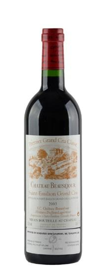 2003 Beausejour (Duffau Lagarrosse) Bordeaux Blend