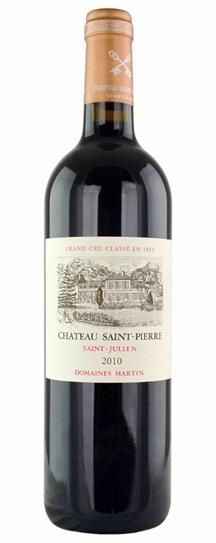 2010 Chateau Saint Pierre St Julien