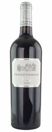 2010 Carignan Prima Bordeaux Blend