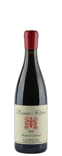 2010 Brewer-Clifton Pinot Noir Mount Carmel