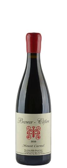 2010 Brewer-Clifton Pinot Noir Mount Carmel