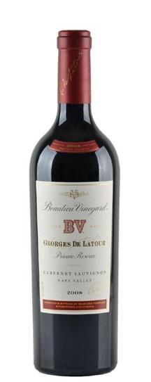 2001 Beaulieu Cabernet Sauvignon Private Reserve Georges de Latour