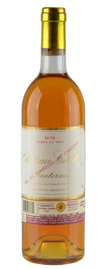 1976 Chateau Gilette Sauternes Blend
