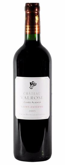 2005 Chateau Valrose Cuvee Alienor