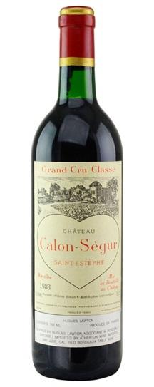 1985 Calon Segur Bordeaux Blend