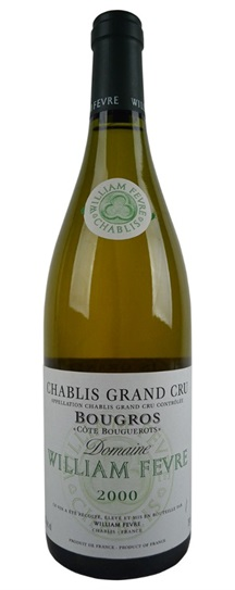 2000 Fevre, Domaine William Chablis Bougros Grand Cru