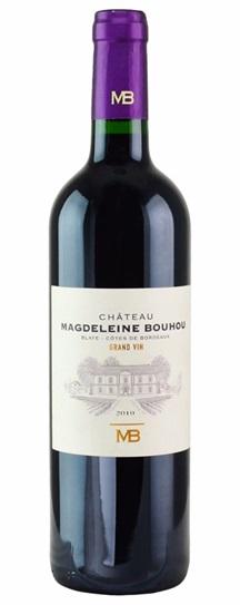 2010 Magdeleine Bouhou Bordeaux Blend