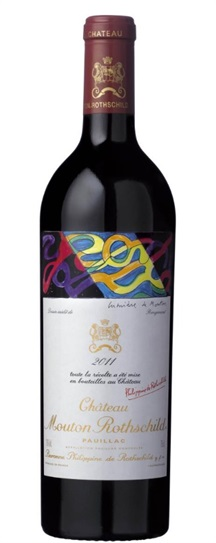 2011 Mouton-Rothschild Bordeaux Blend