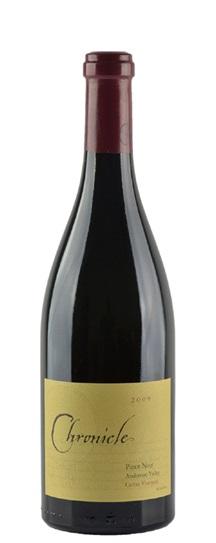 2009 Chronicle Pinot Noir Cerise Vineyard