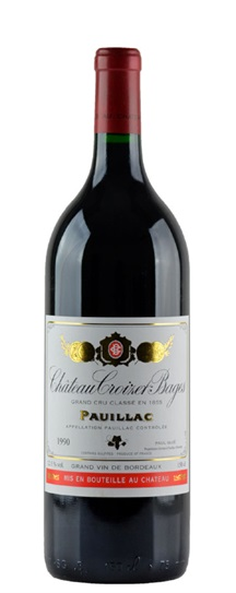 1990 Croizet Bages Bordeaux Blend