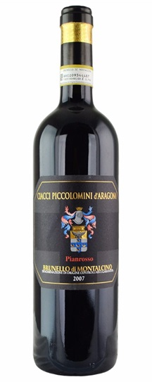 2007 Ciacci Piccolomini d'Aragona Brunello di Montalcino Vigna di Pianrosso