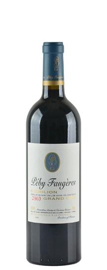 2000 Peby Faugeres Bordeaux Blend