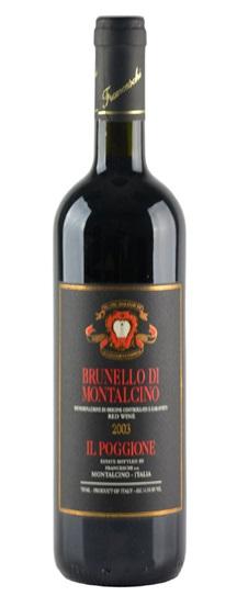 2001 Il Poggione Brunello di Montalcino Riserva