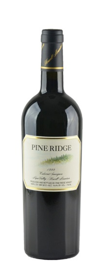 1993 Pine Ridge Cabernet Sauvignon Howell Mountain