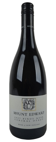 2007 Mount Edward Pinot Noir