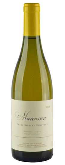 2001 Marcassin Chardonnay Three Sisters Vineyard