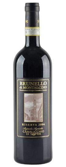 2012 Canalicchio di Sopra Brunello di Montalcino Riserva