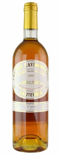 2003 Raymond-Lafon Sauternes Blend