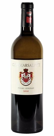 2010 Clos Marsalette Blanc