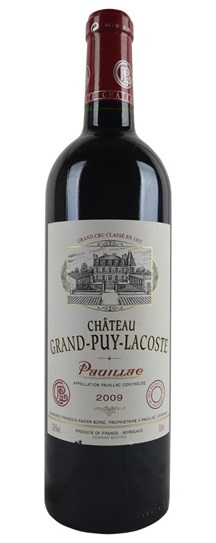2009 Grand-Puy-Lacoste Bordeaux Blend