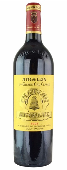 2003 Angelus Bordeaux Blend