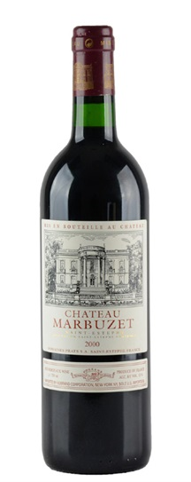2000 Marbuzet Bordeaux Blend