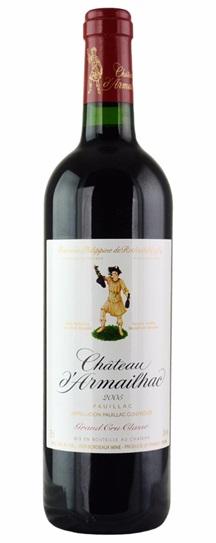 2005 d'Armailhac Bordeaux Blend