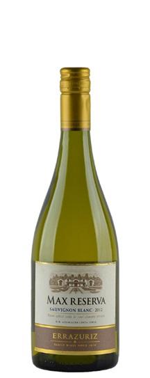 2012 Errazuriz Sauvignon Blanc Max Reserva