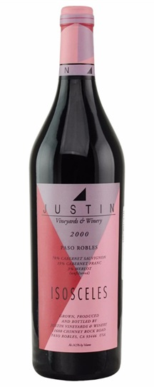 2008 Justin Vineyard Isosceles Proprietary Red Wine