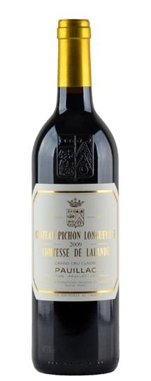2009 Pichon-Longueville Comtesse de Lalande Bordeaux Blend