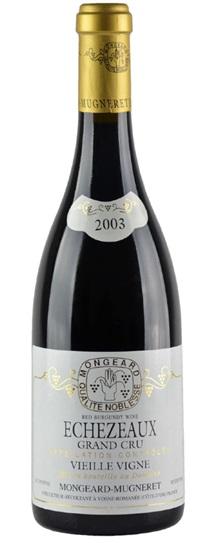 2003 Mongeard-Mugneret, Domaine Echezeaux Vieilles Vignes
