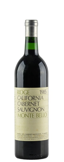 1986 Ridge Monte Bello