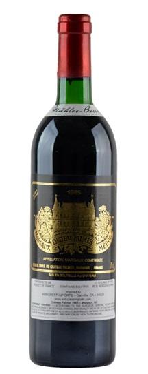 1982 Chateau Palmer Bordeaux Blend