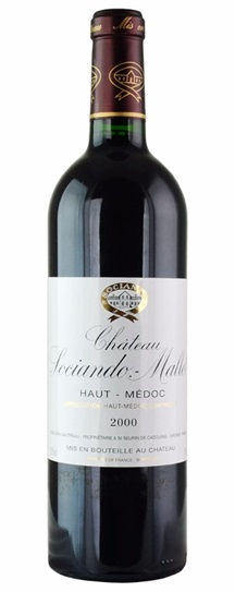 2001 Sociando-Mallet Bordeaux Blend
