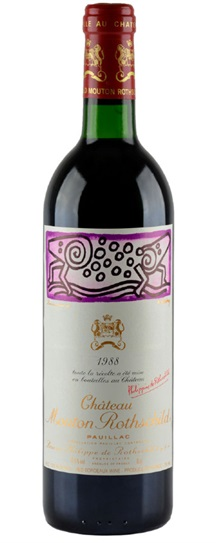 1989 Mouton-Rothschild Bordeaux Blend