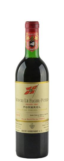 1970 Fleur Petrus, La Bordeaux Blend