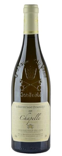 2009 Bastide Saint Dominique, Domaine la Chateauneuf du Pape Blanc Chapelle Vieilles Vignes