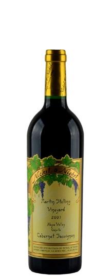 2003 Nickel & Nickel Cabernet Sauvignon Stelling Vineyard