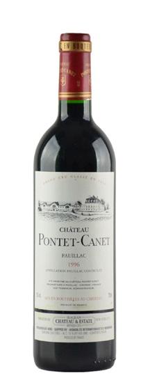 1996 Pontet-Canet Bordeaux Blend