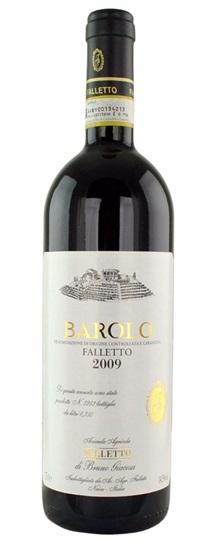 2009 Bruno Giacosa Barolo Falletto