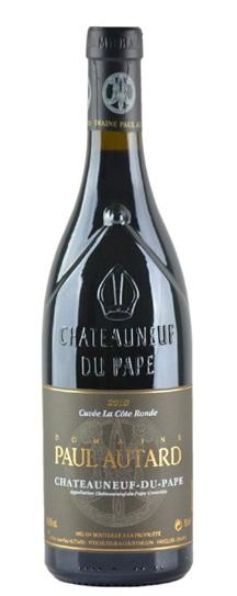 2010 Autard, Paul Chateauneuf du Pape Cuvee La Cote Ronde