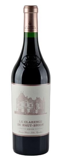 2010 Le Clarence de Haut Brion Bordeaux Blend