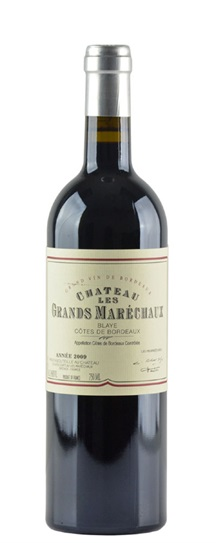 2009 Les Grands Marechaux Bordeaux Blend
