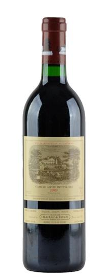 1989 Lafite-Rothschild Bordeaux Blend
