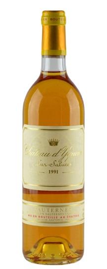 1991 Chateau d'Yquem Sauternes Blend