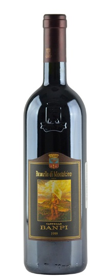 1999 Castello Banfi Brunello di Montalcino
