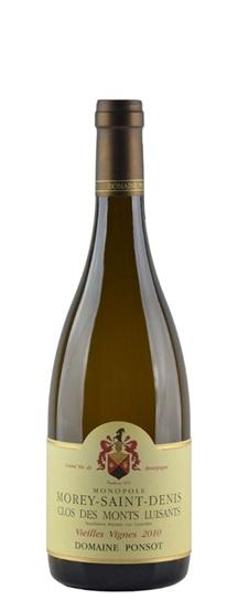 2010 Ponsot, Domaine Morey St Denis Clos des Monts Luisants Vieilles Vignes White